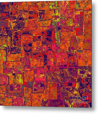 0295 Abstract Thought Metal Print by Chowdary V Arikatla