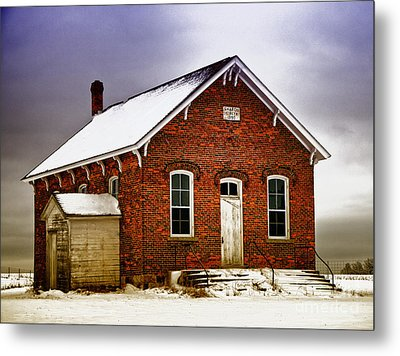 1890 School House Metal Print by JRP Photography