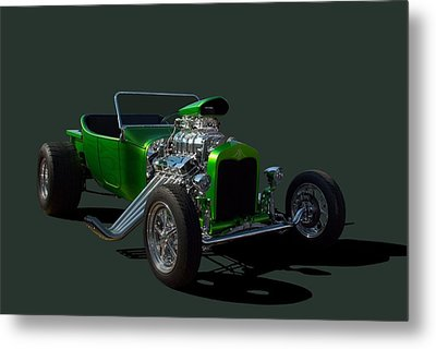 1923 Ford Bucket T Hot Rod Metal Print by Tim McCullough