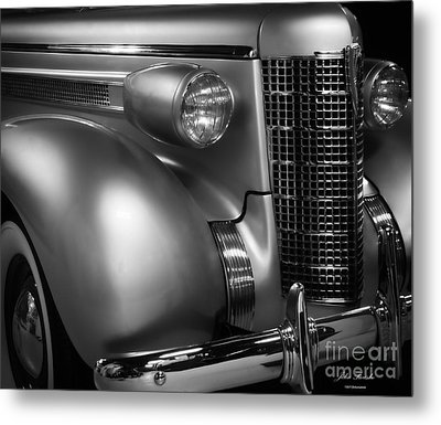 1937 Oldsmobile Metal Print by JRP Photography