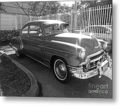 1949 Chevy Metal Print by Andres LaBrada