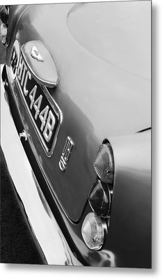 1964 Aston Martin Db5 Coupe' Taillight Metal Print by Jill Reger