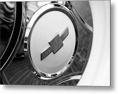 1964 Chevrolet Pickup Truck K 10 Wheel Emblem Metal Print