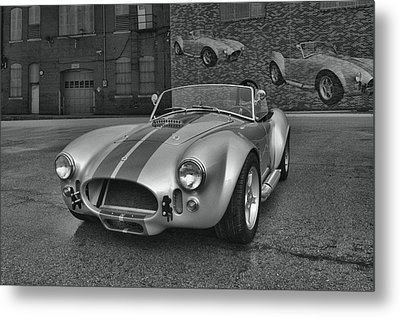 Metal Print featuring the photograph 1965 Shelby Cobra Replica by Tim McCullough