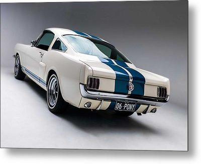 Metal Print featuring the photograph 1966 Mustang Gt350 by Gianfranco Weiss
