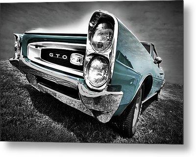 1966 Pontiac Gto Metal Print