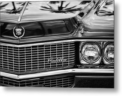 1969 Cadillac Eldorado Grille Metal Print by Jill Reger