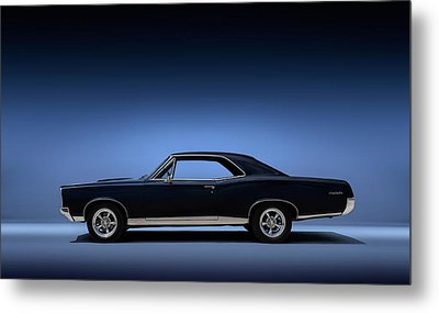 67 Gto Metal Print by Douglas Pittman