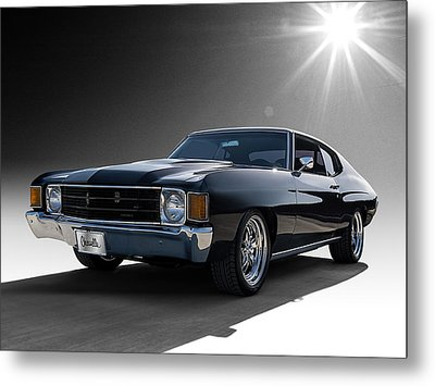 '72 Chevelle Metal Print by Douglas Pittman