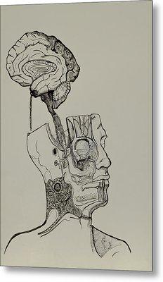 A Bright Idea Metal Print by Nickolas Kossup