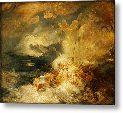 A Disaster At Sea Metal Print