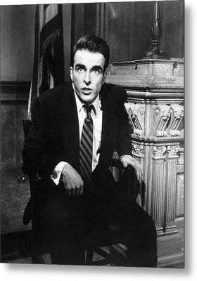 A Place In The Sun, Montgomery Clift Metal Print by Everett