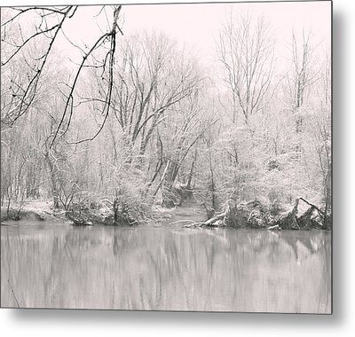A Whisper Of Snow Metal Print