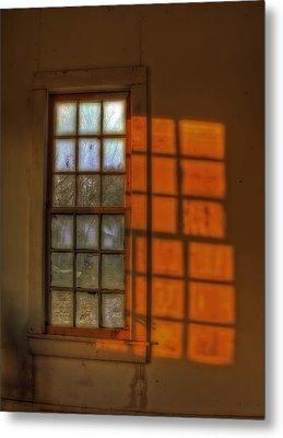 A Window Metal Print by Mark Alder