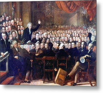 Abolition Convention, 1840 Metal Print