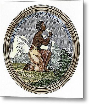 Abolition Emblem, 1837 Metal Print by Granger