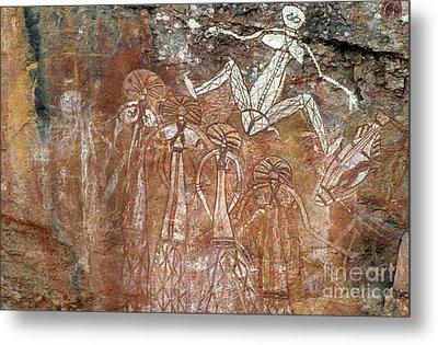 Aboriginal Art, Australia Metal Print by Mark Newman