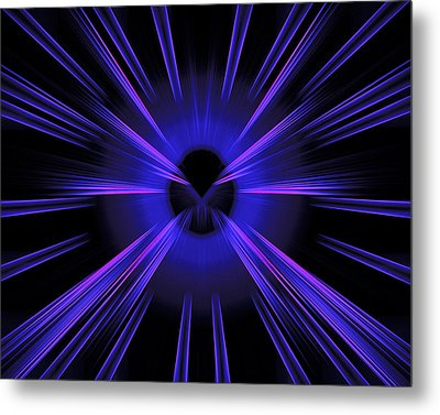 Abstract 0020 Metal Print