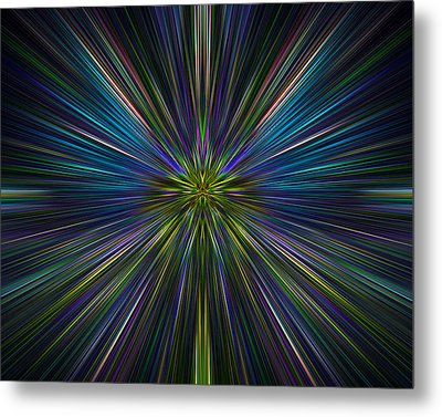 Abstract 0021 Metal Print