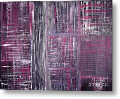Abstract #1 Metal Print by Angela Bruno
