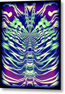 Abstract 140 Metal Print by J D Owen
