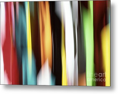 Abstract Metal Print by Tony Cordoza