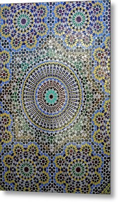 Africa, Morocco, Fes Metal Print
