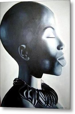 African Elegance - Original Artwork Metal Print