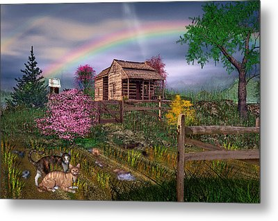 After The Storm Metal Print by Mary Almond