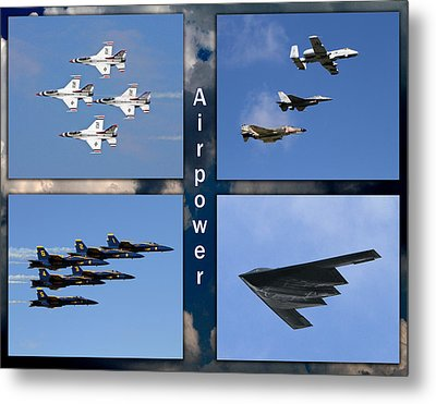 Air Power Metal Print by John Freidenberg