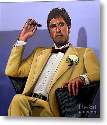Al Pacino Metal Print by Paul Meijering