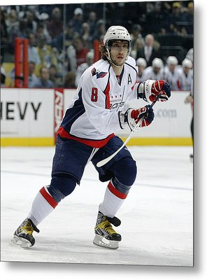 Alex Ovechkin Metal Print by Don Olea