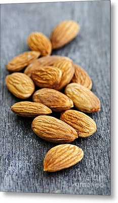 Almonds Metal Print by Elena Elisseeva