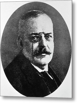 Alois Alzheimer Metal Print by National Library Of Medicine