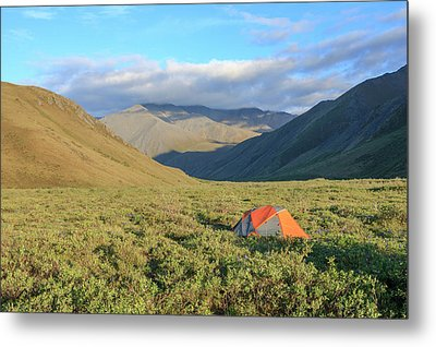 Along Kongakut River Metal Print by Tom Norring