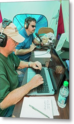 Amateur Radio Operators Metal Print by Jim West