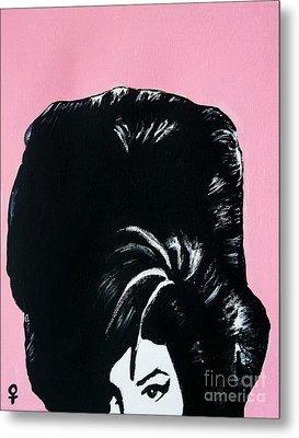 Amy Winehouse Metal Print by Venus