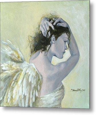 Angel    Metal Print by Dorina  Costras