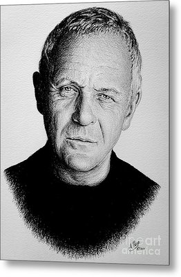 Anthony Hopkins Metal Print by Andrew Read
