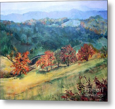 Appalachian Autumn Metal Print