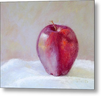 Apple Metal Print by Nancy Stutes
