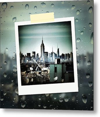 April In Nyc Metal Print by Natasha Marco