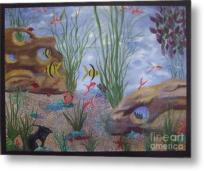 Aquarium Metal Print by Debra Piro