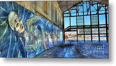 Metal Print featuring the photograph Asbury Park Casino And Carousel House by Lee Dos Santos