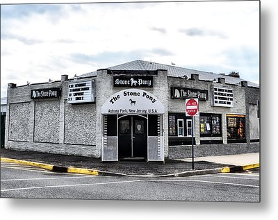 Asbury Park's Stone Pony Metal Print by Bill Cannon