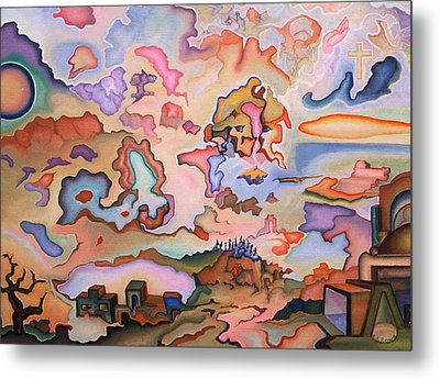 Ascension Metal Print by Aswell Rowe