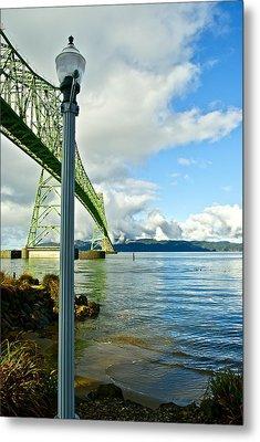 Astoria Bridge Metal Print by Rae Berge