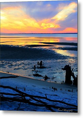 At A Days End Metal Print by Debra Forand