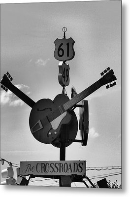 At The Crossroads Metal Print