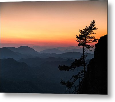 At The End Of The Day Metal Print by Davorin Mance